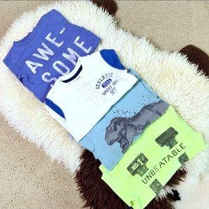 Carter's Graphic Long-sleeves Tees Bundle